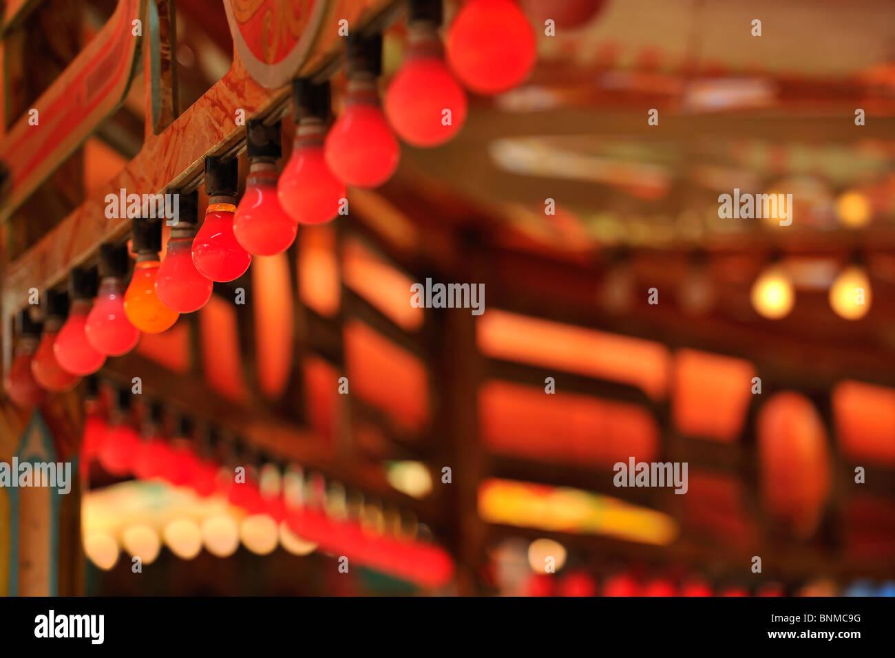 Rotes Licht Stockbild