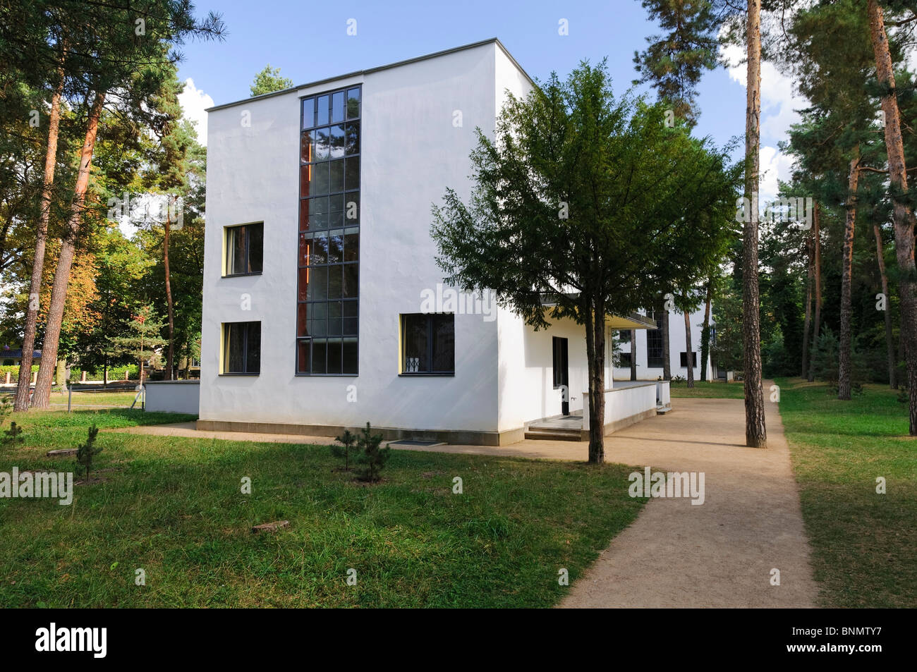Bauhaus Re Use Building Stockfotos & Bauhaus Re Use Building Bilder ...