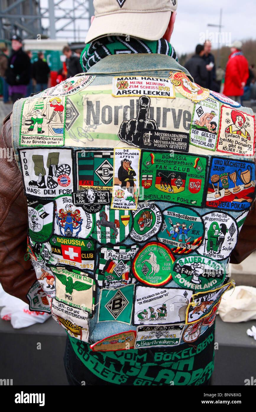 Deutschland Fußball deutschen Bundes Liga 2008/2009 Borussia Mönchengladbach Hannover 96 Stadion Borussia Stockbild