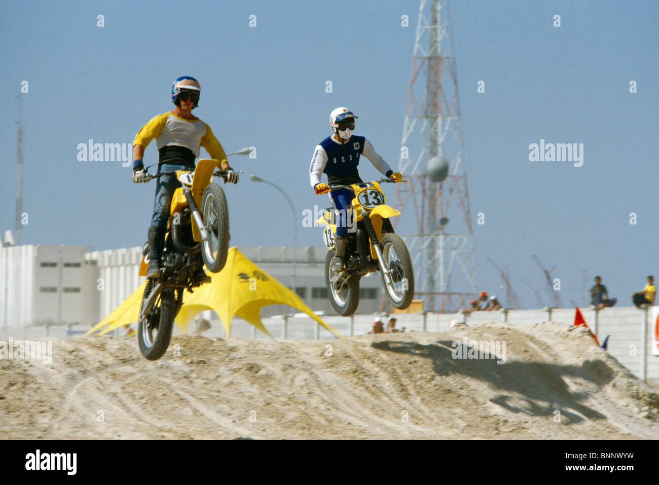 Dubai-Vereinigte Arabische Emirate-Motorrad kriechen, Stockbild