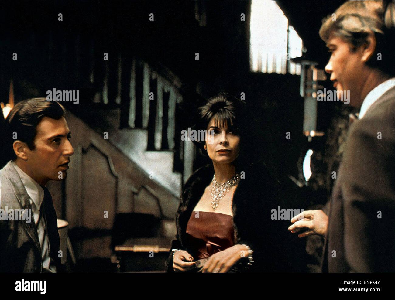 Al Pacino Talia Shire Der Pate Teil Ii 1974 Stockfoto