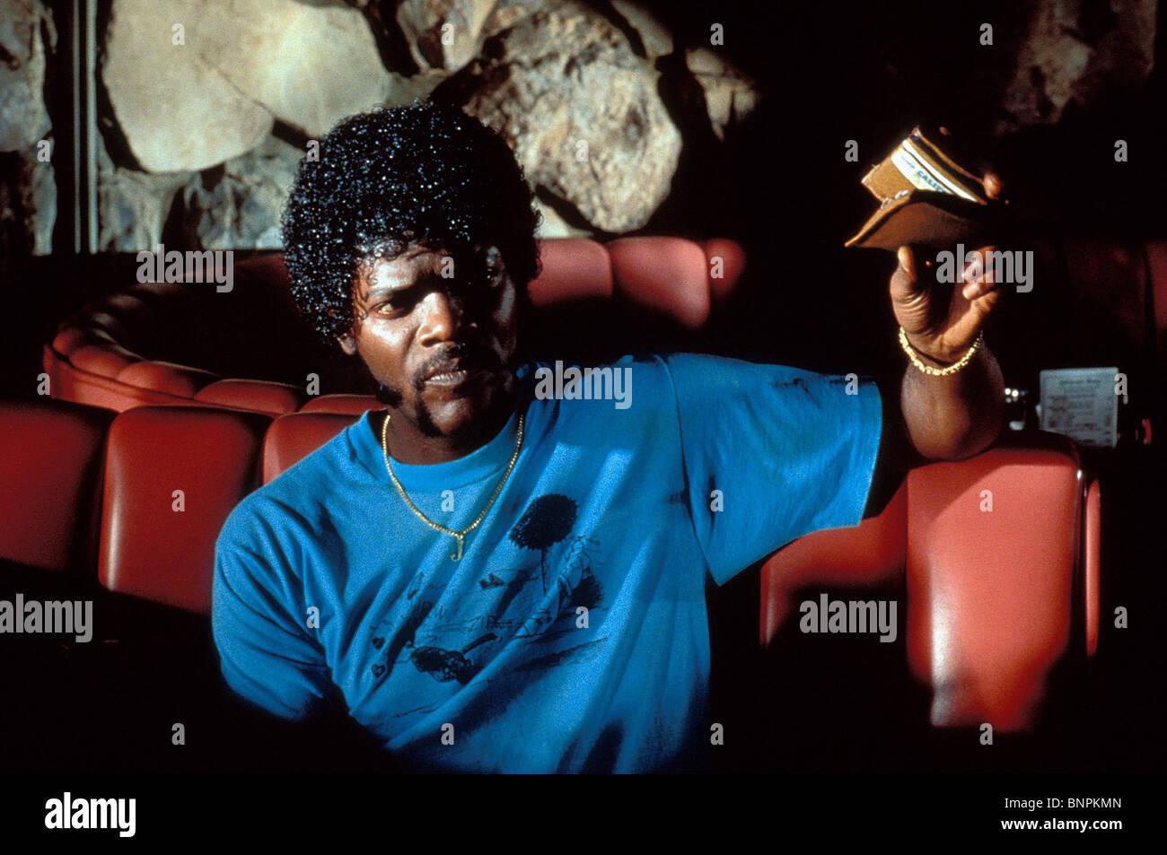 SAMUEL PULP FICTION (1994) Stockbild