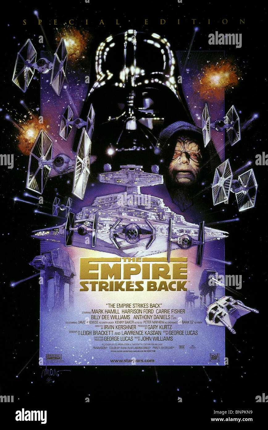 FILM-PLAKAT-STAR WARS: THE EMPIRE STRIKES BACK; STAR WARS ...