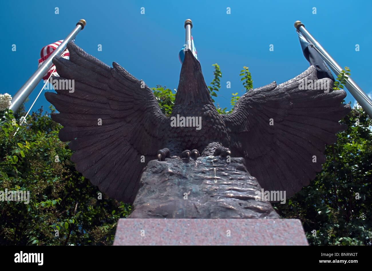 Veteran es Memorial in Bossier City - HDR Stockbild