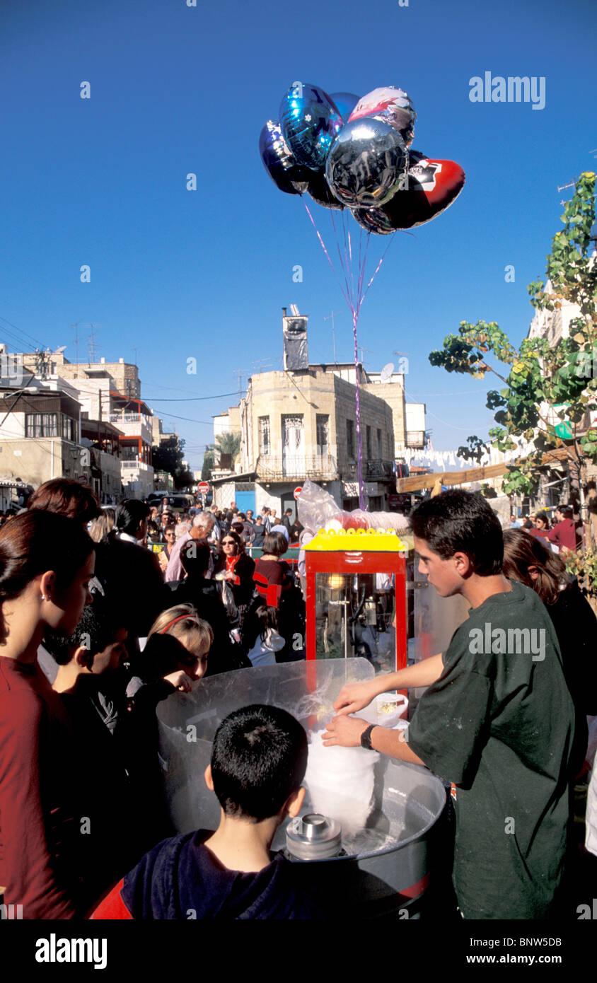Israel Haifa Die Drei Ferien Festival In Wadi Nisnas Feiert