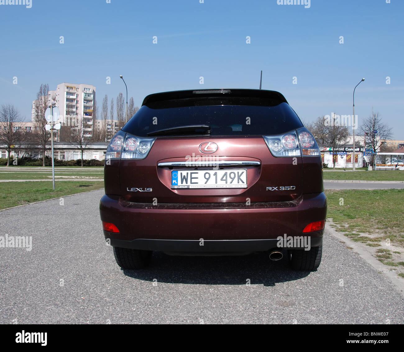 Lexus RX 350 - meine 2004 (MK2) - braun - fünf Türen (5D ...