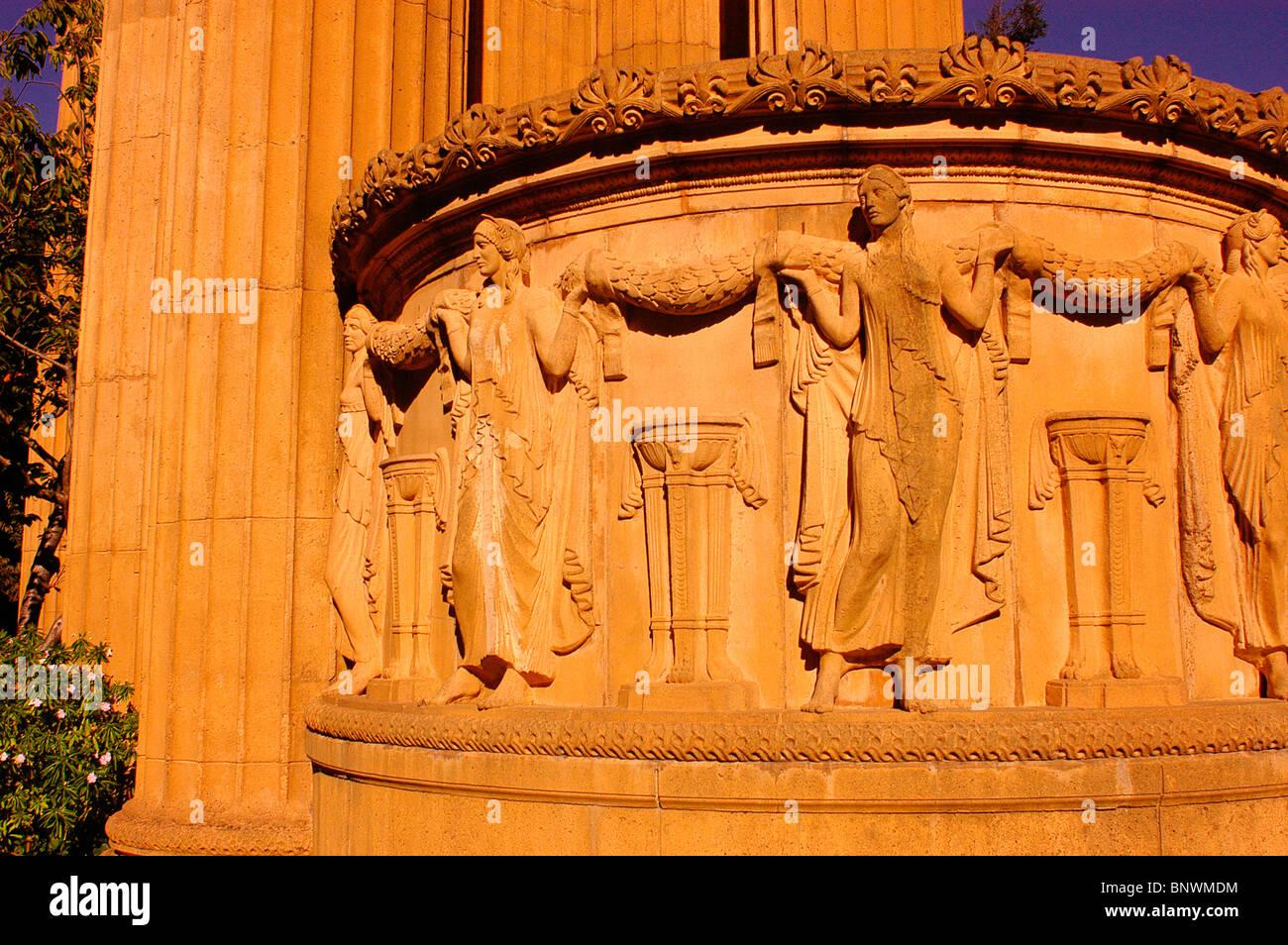 Palast der schönen Künste Stockbild