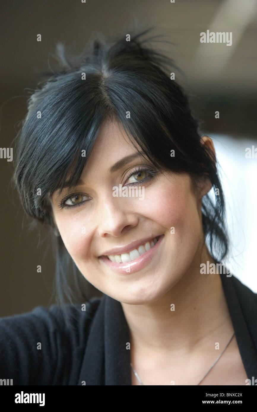 TV-Schauspielerin Kim Marsh Stockbild