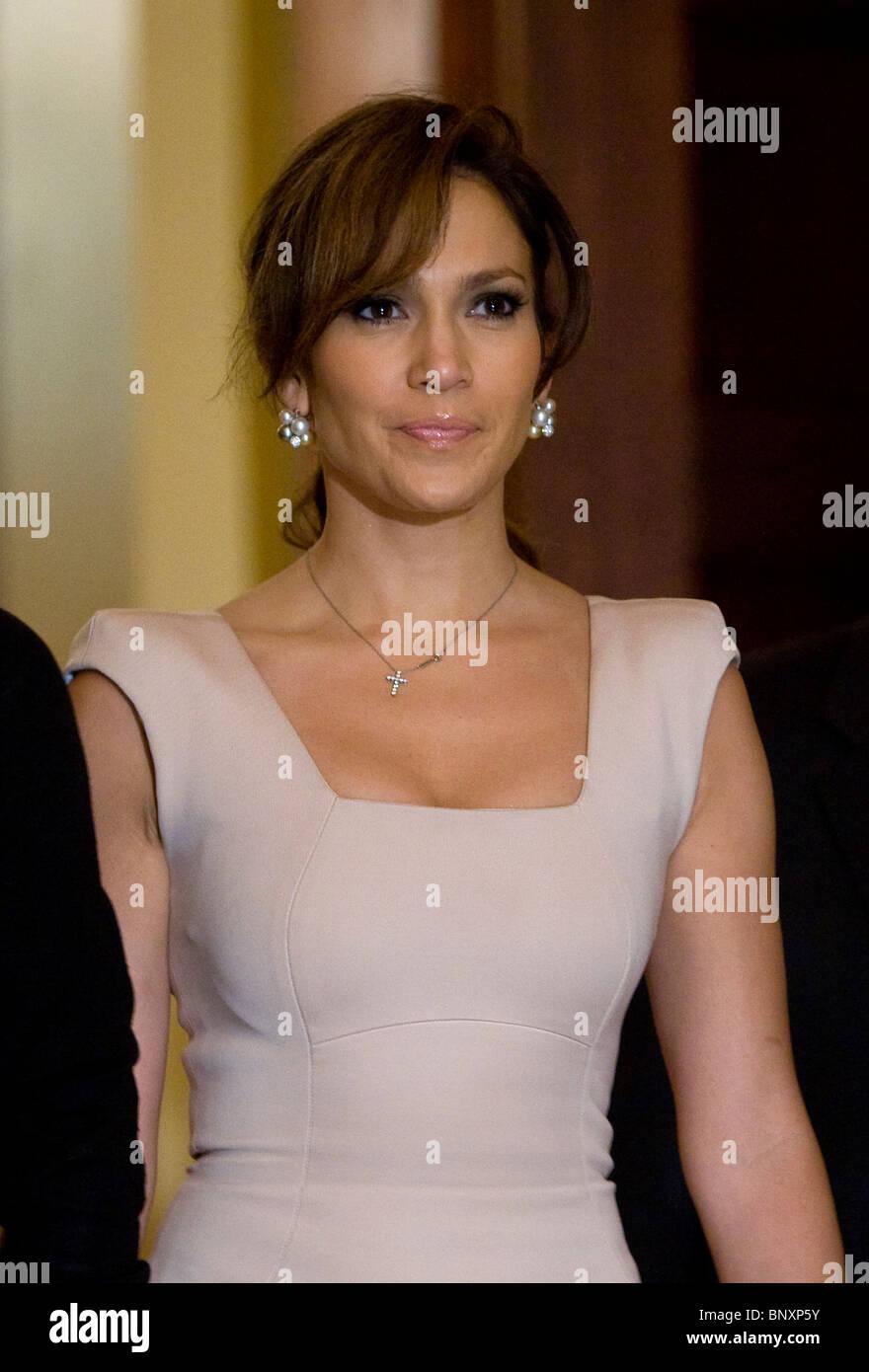 Schauspielerin Jennifer Lopez. Stockbild