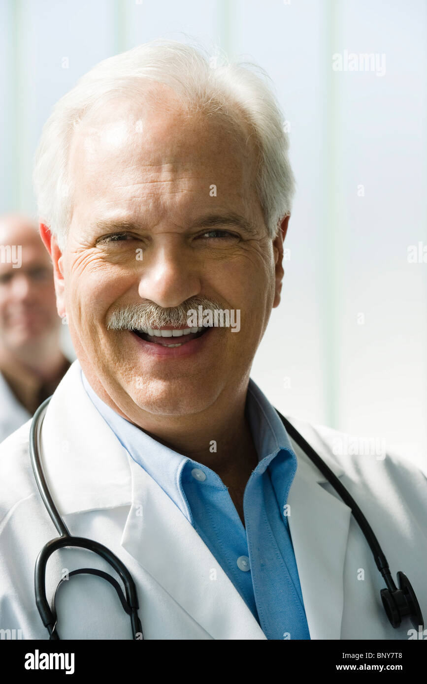 Arzt, portrait Stockbild