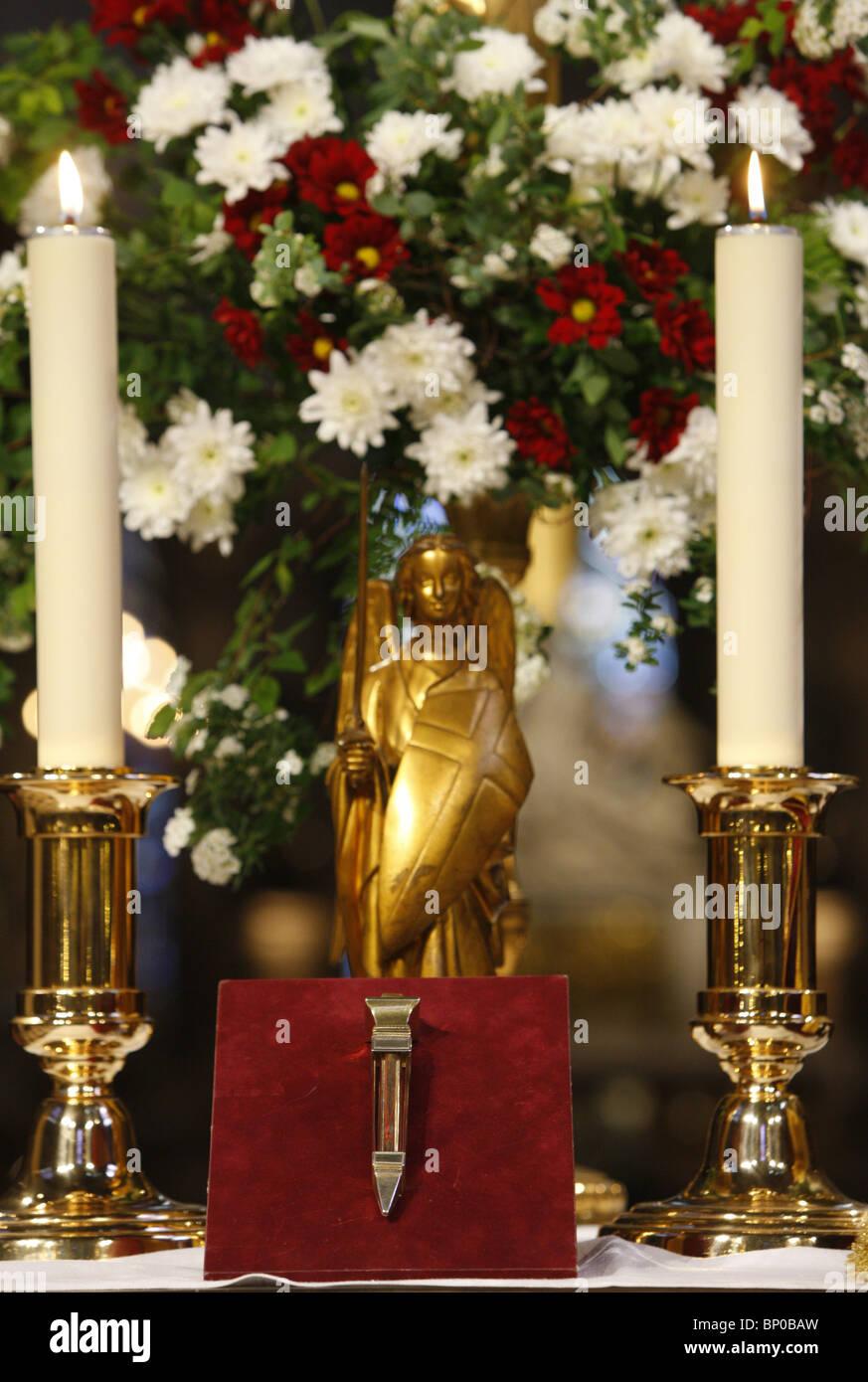 Frankreich, Paris, ChristÕs Leidenschaft Reliquien an der Notre Dame ...