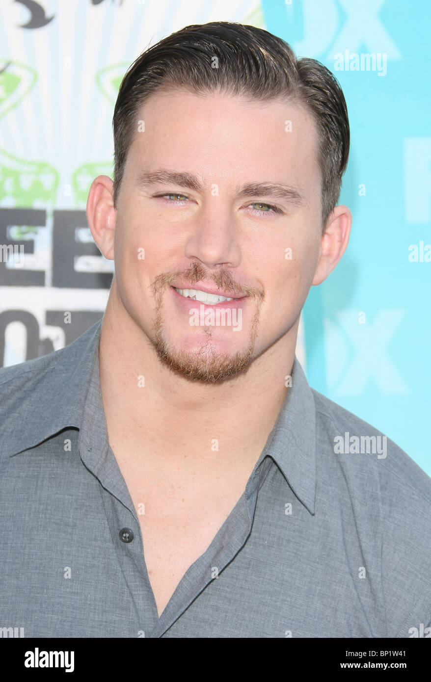 CHANNING TATUM TEEN CHOICE 2010 Ankünfte LOS ANGELES Kalifornien USA 08 August 2010 Stockbild