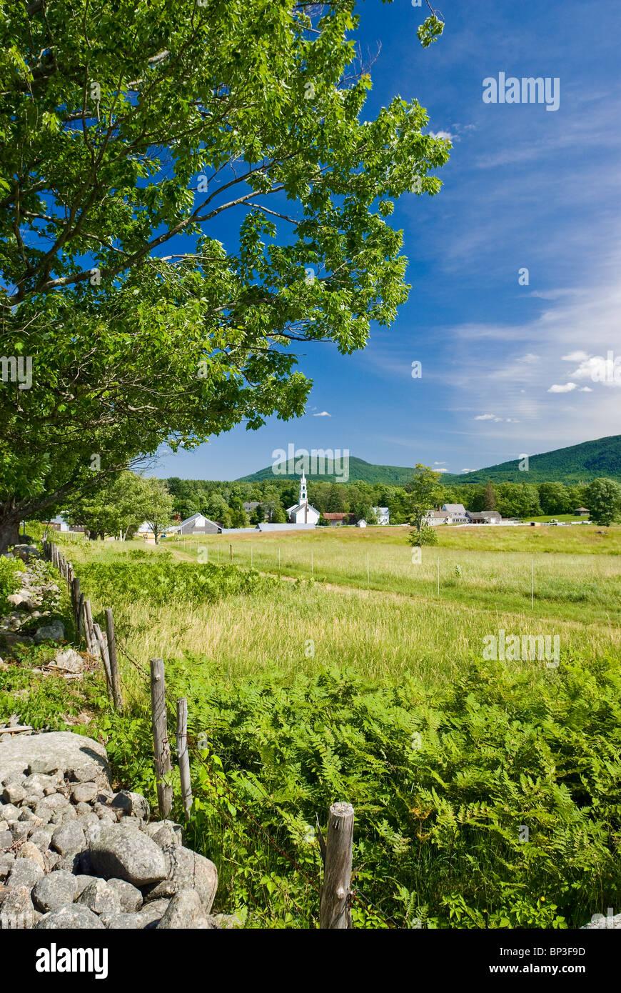 Tamworth, New Hampshire, USA. Stockbild