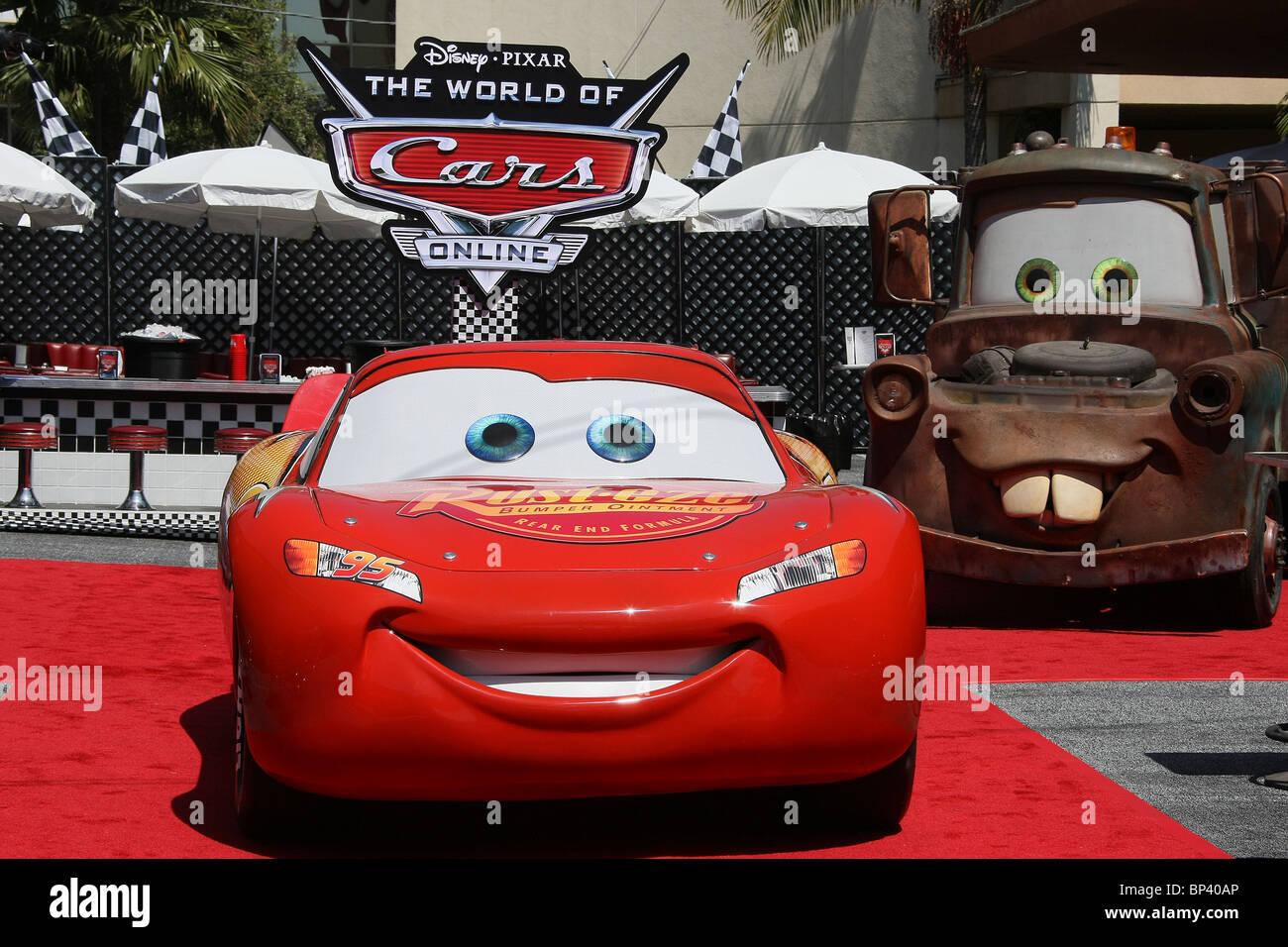 Autos Der Film Disney Pixar World Of Cars Online Videospiel Debut