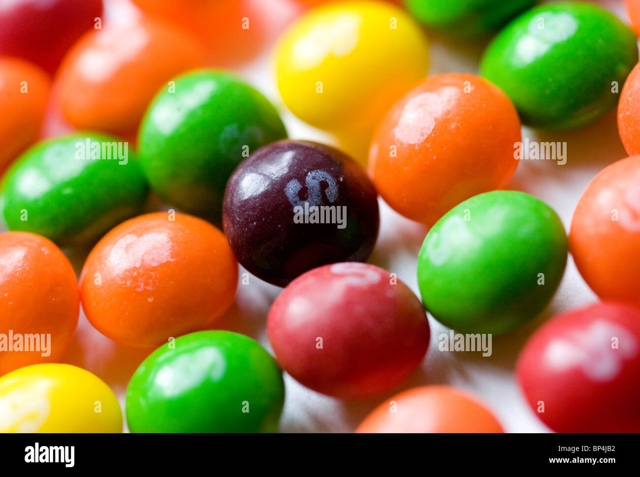 Kegeln-Candy. Stockfoto