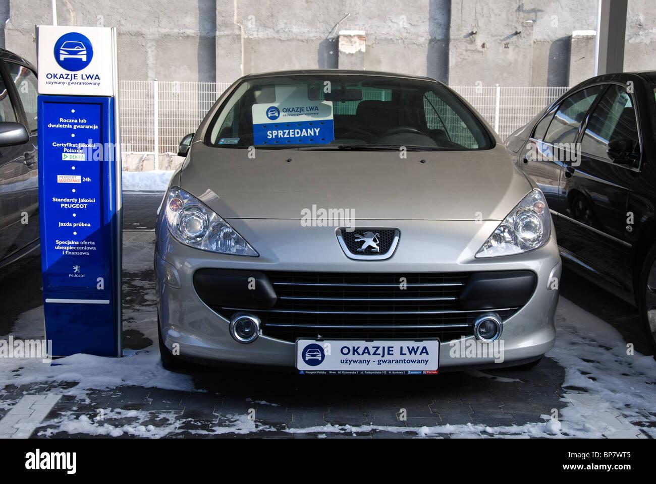 Auto Peugeot 307 Cc Für Verkauf Peugeot Händler In Polen A