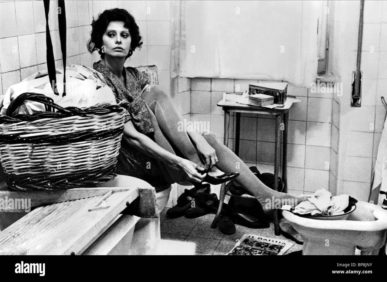 Sophia Loren As Antonietta Film Title A Special Day