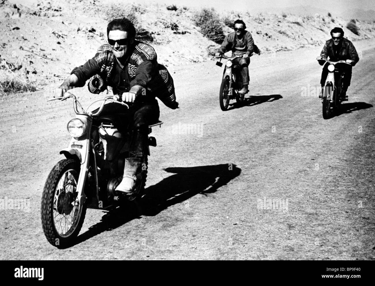 FILM-SZENE MOTOR PSYCHO (1965) Stockbild