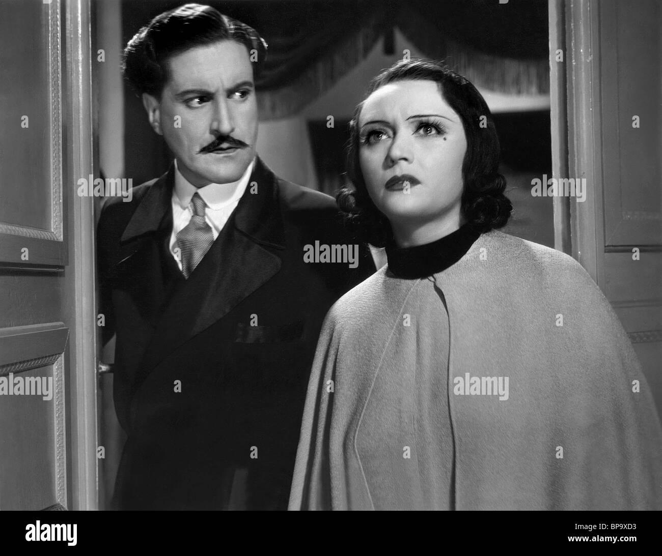 ALBRECHT SCHOENHALS & POLA NEGRI MAZURKA (1935) Stockbild