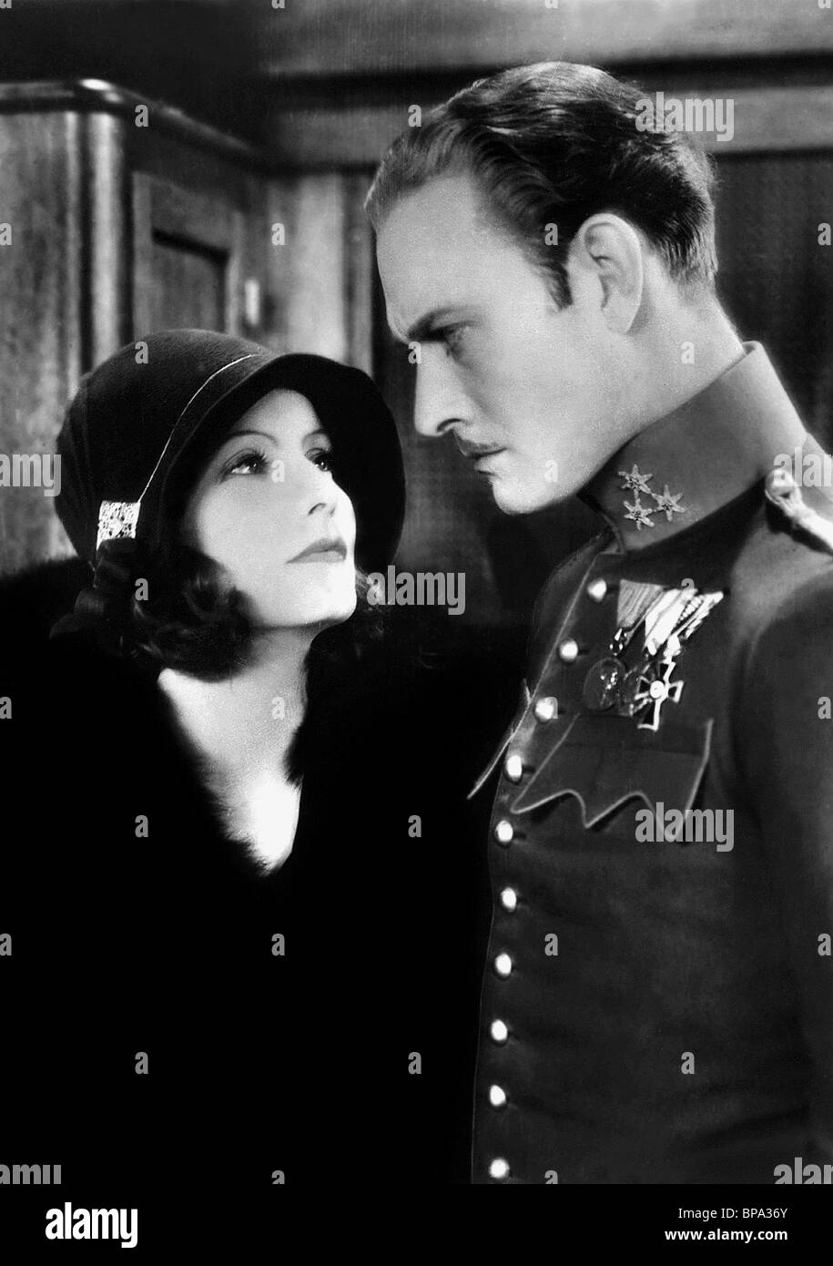 GRETA GARBO & CONRAD NAGEL DIE GEHEIMNISVOLLE DAME (1928 Stockfoto ...