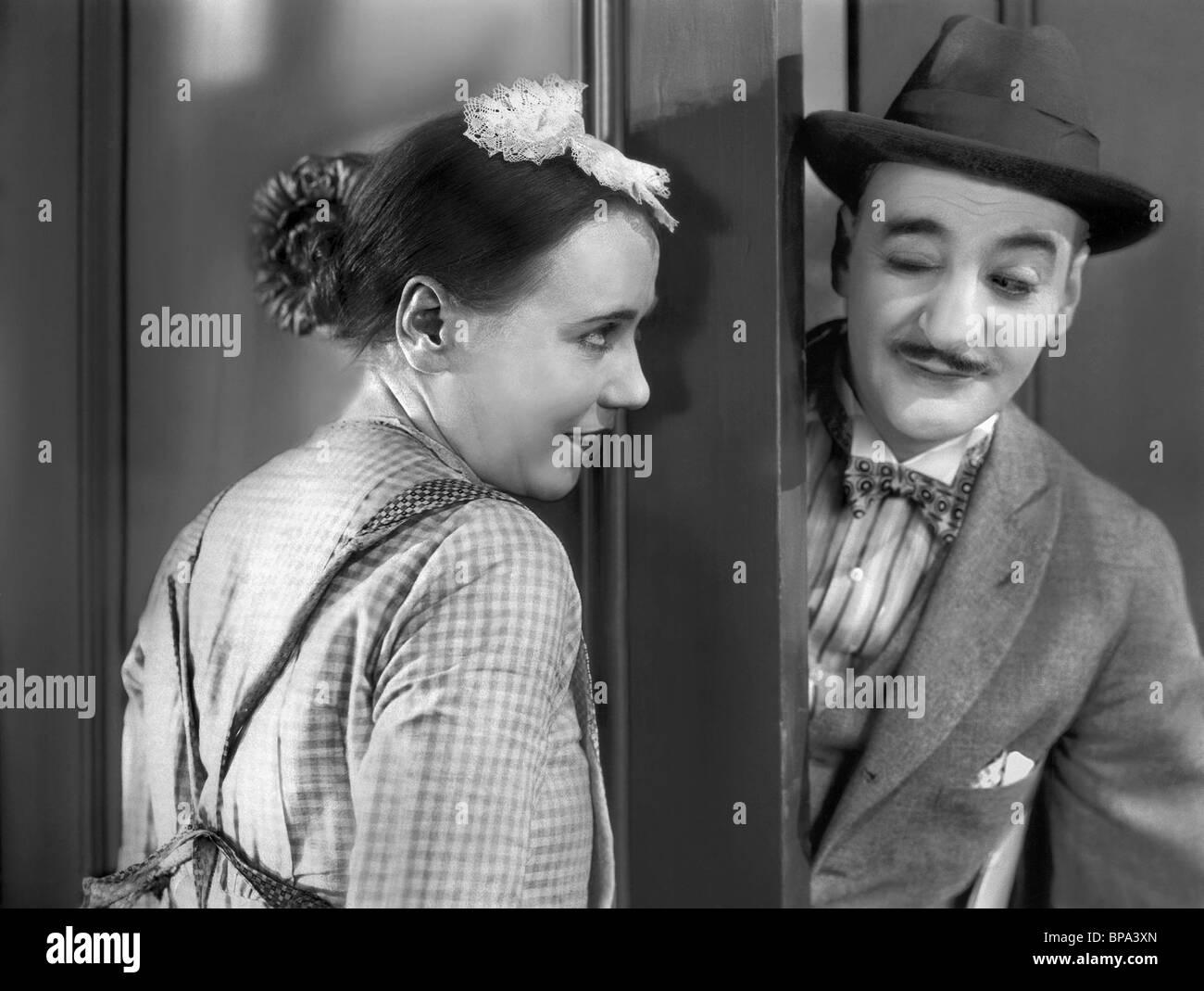 LOUISE FAZENDA & JOHN T. MURRAY FINGER PRINTS (1927) Stockbild