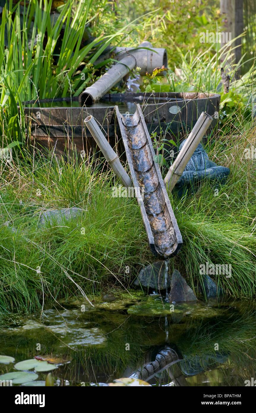 Bambus Wasserspiel Stockfoto Bild 30971632 Alamy