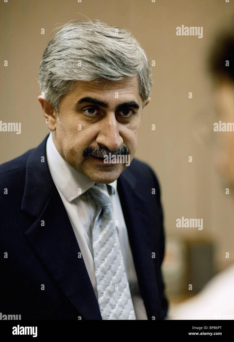 Generaldirektor der Sukhoy Aviation Holding Company (AKhK) Michail Pogosjan Stockbild