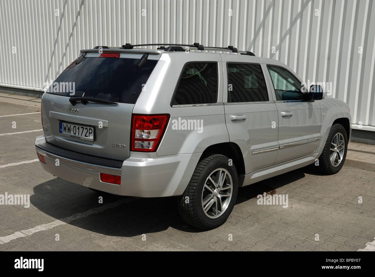 jeep grand cherokee 3.0 crd - meinestadt 2005 (wk) - silber metallic