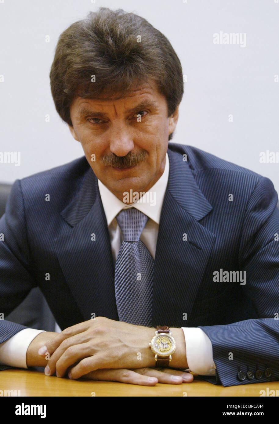 Flun Gumerov, Präsident von Almaz-Holding-Gesellschaft Stockbild