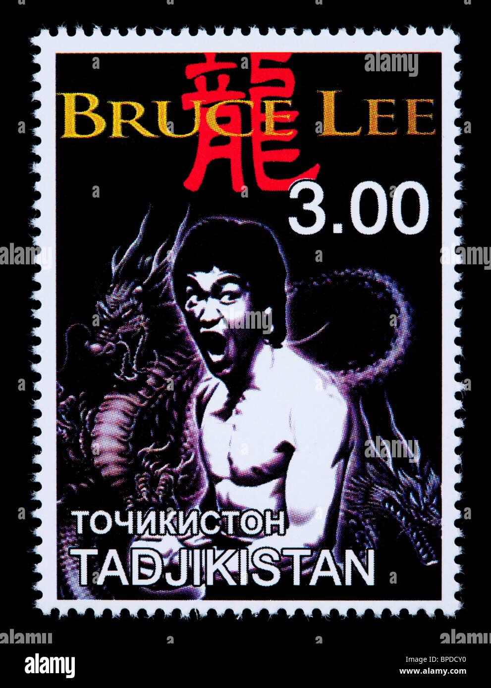 Tadschikistan Circa 2000 Eine Briefmarke Gedruckt In