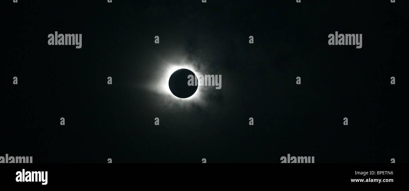 Sonnenfinsternis Stockbild