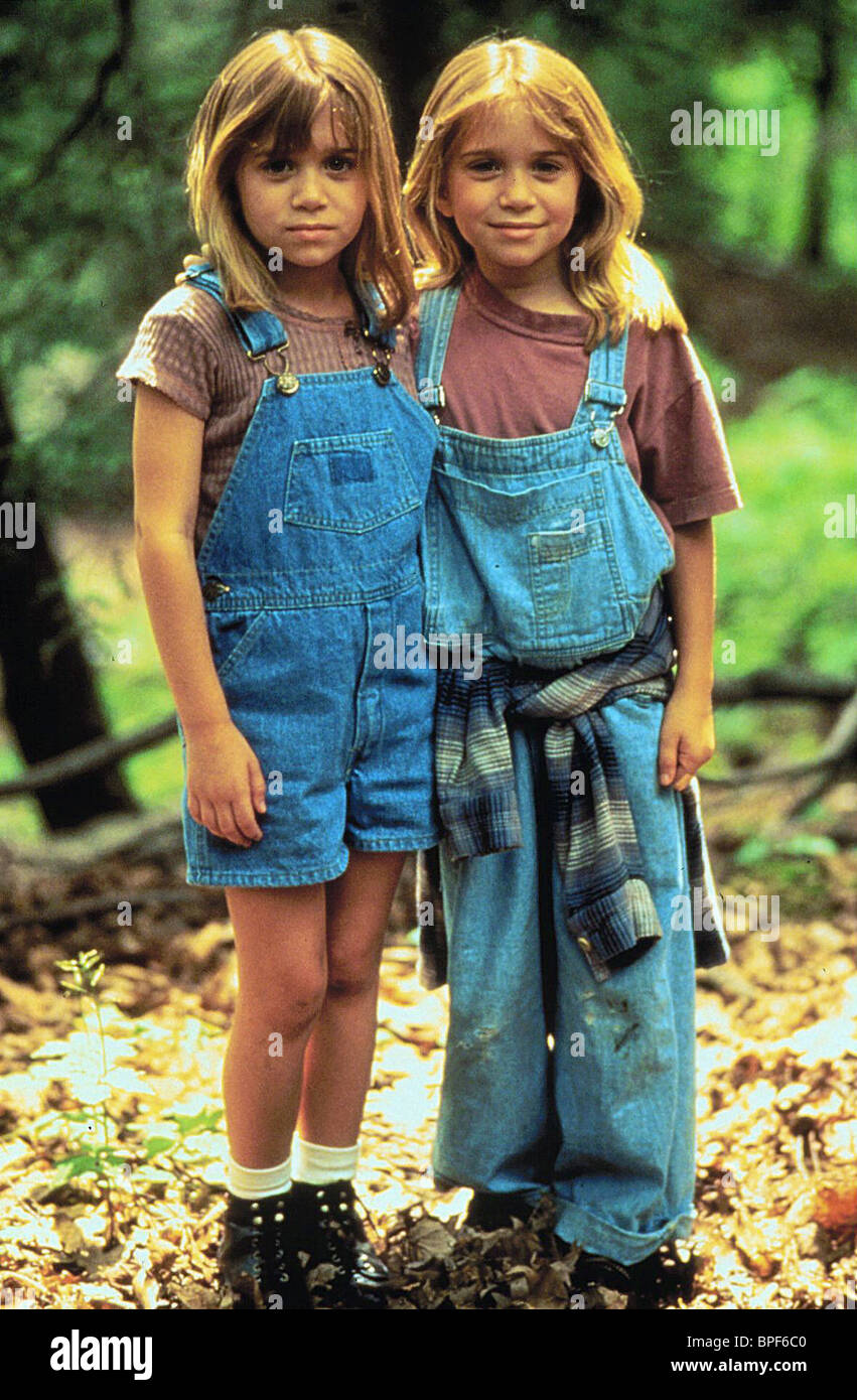 Ashley Olsen As Alyssa Callaway Film Title It Takes Two Stockfotos