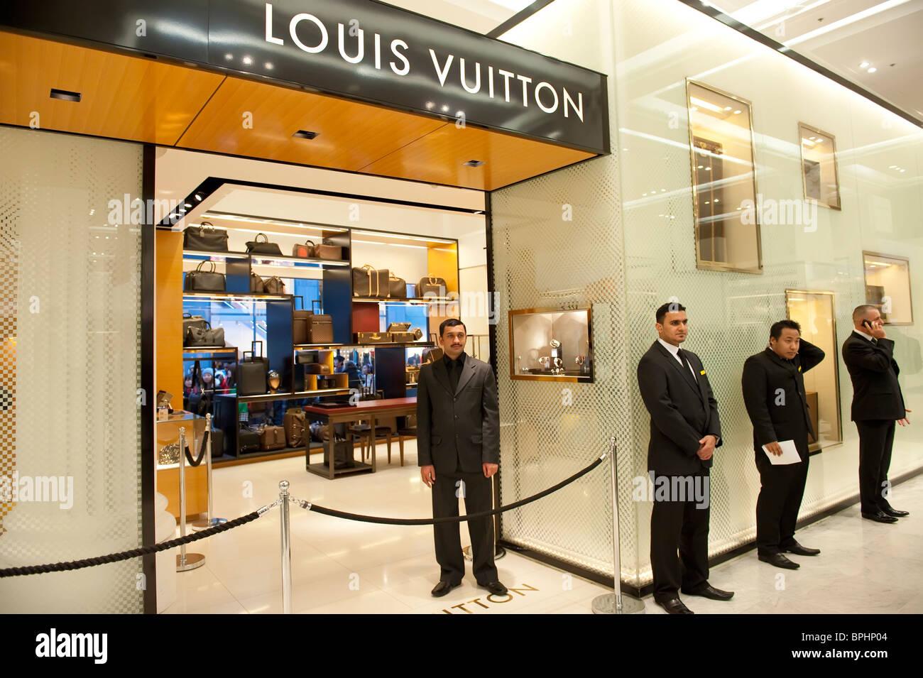 Louis Vuitton Boutique Stockfotos Louis Vuitton Boutique Bilder