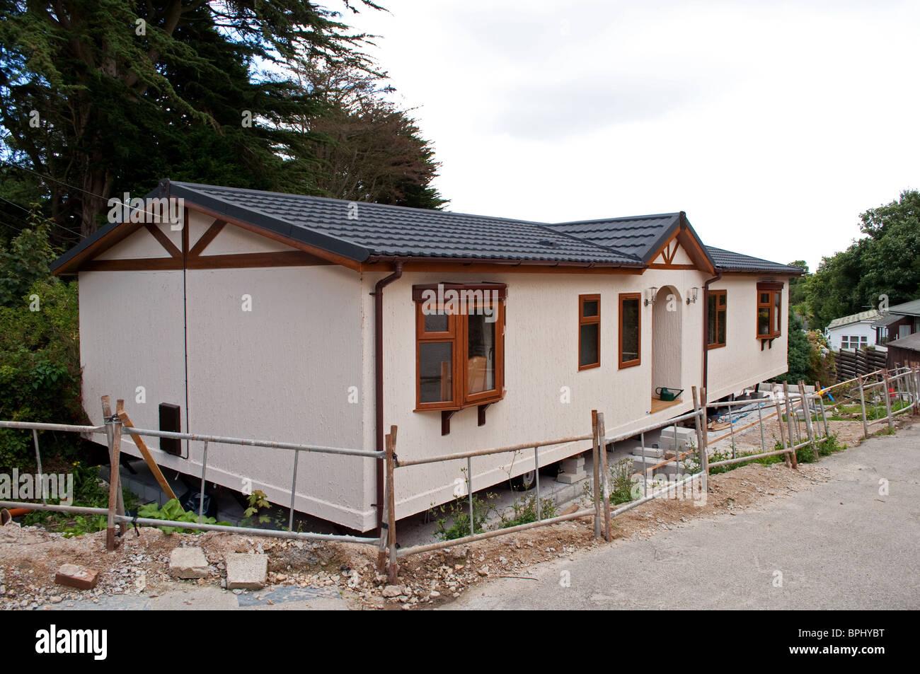 Mobilheim Mieten Cornwall : Ein neues mobilheim geliefert nur um einen ferienpark in der nähe