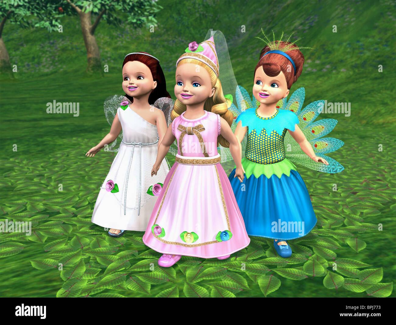 Feen Barbie Als Rapunzel 2002 Stockfoto Bild 31133623 Alamy