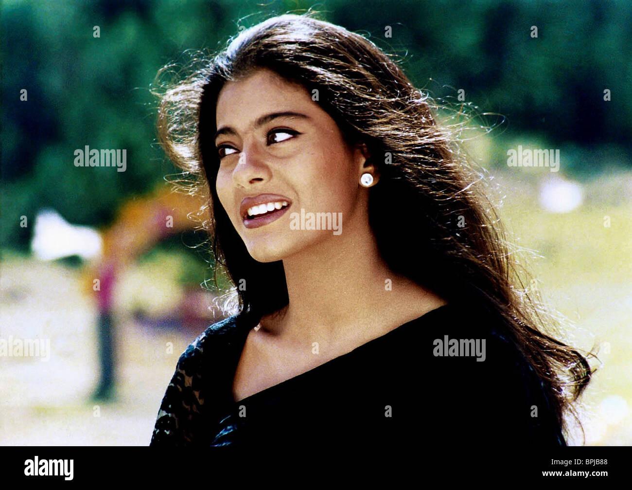 Kajol Als Anjali Sharma Filmtitel Kuch Kuch Hota Hai Stockfotos