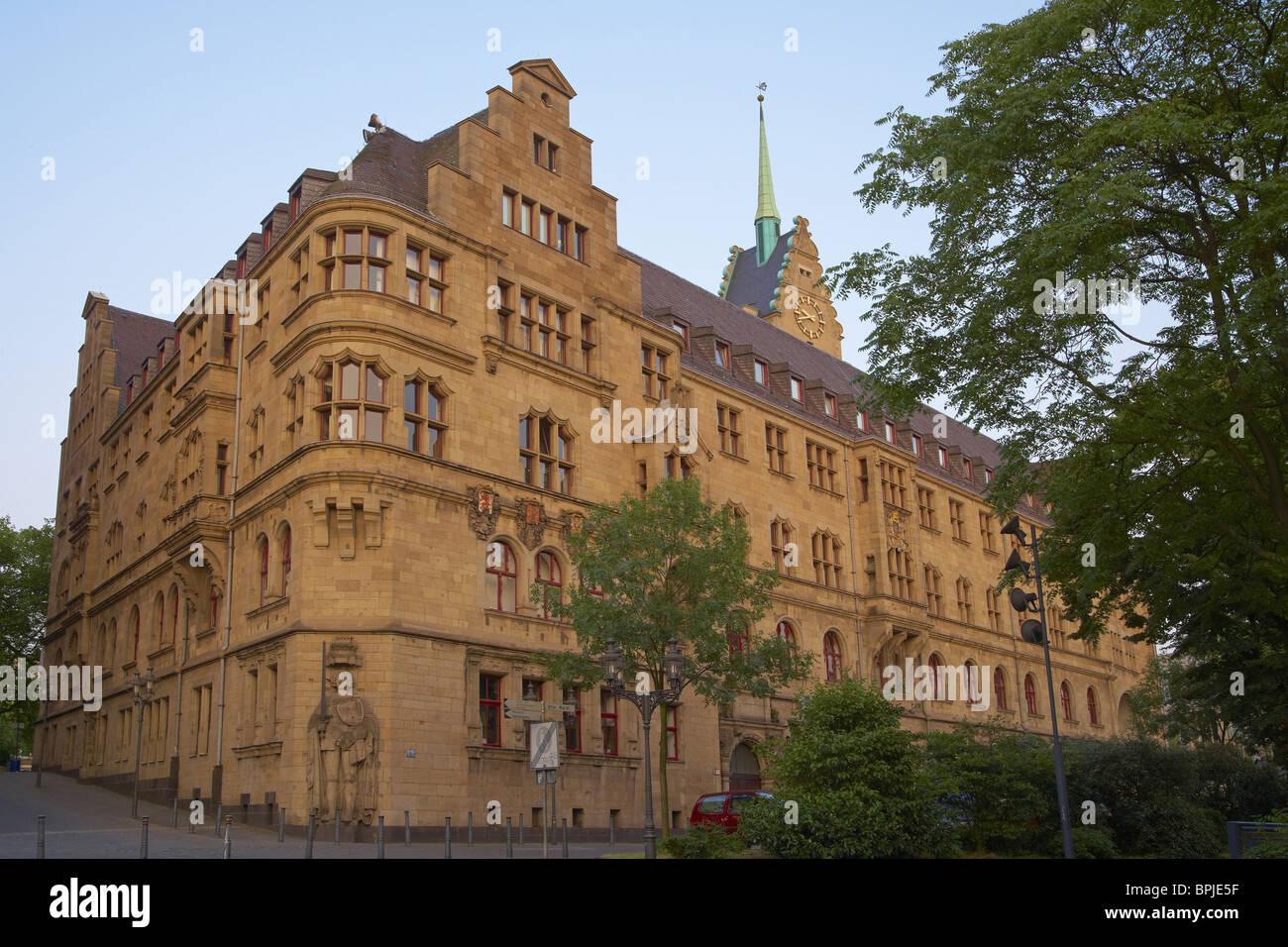 Architekt Duisburg rathaus in duisburg architekt friedrich ratzel 1897 1902