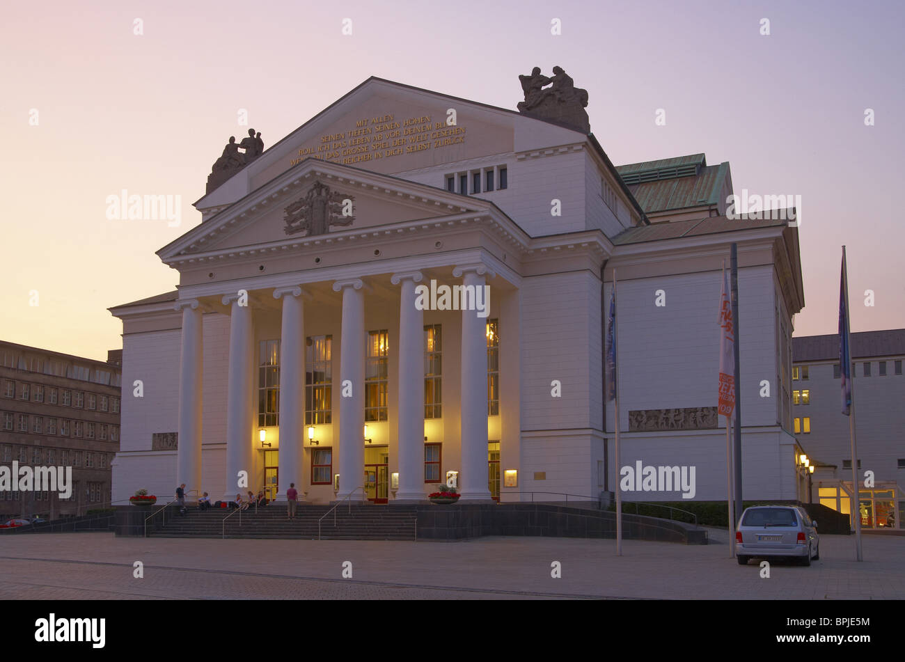 Architekt Duisburg duisburg theatre stockfotos duisburg theatre bilder alamy