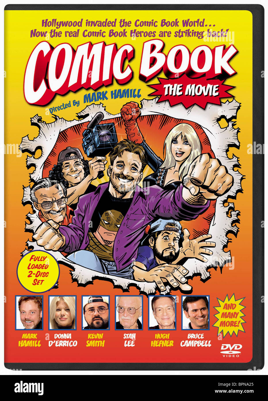 FILM POSTER COMIC BOOK: THE MOVIE (2004) Stockbild