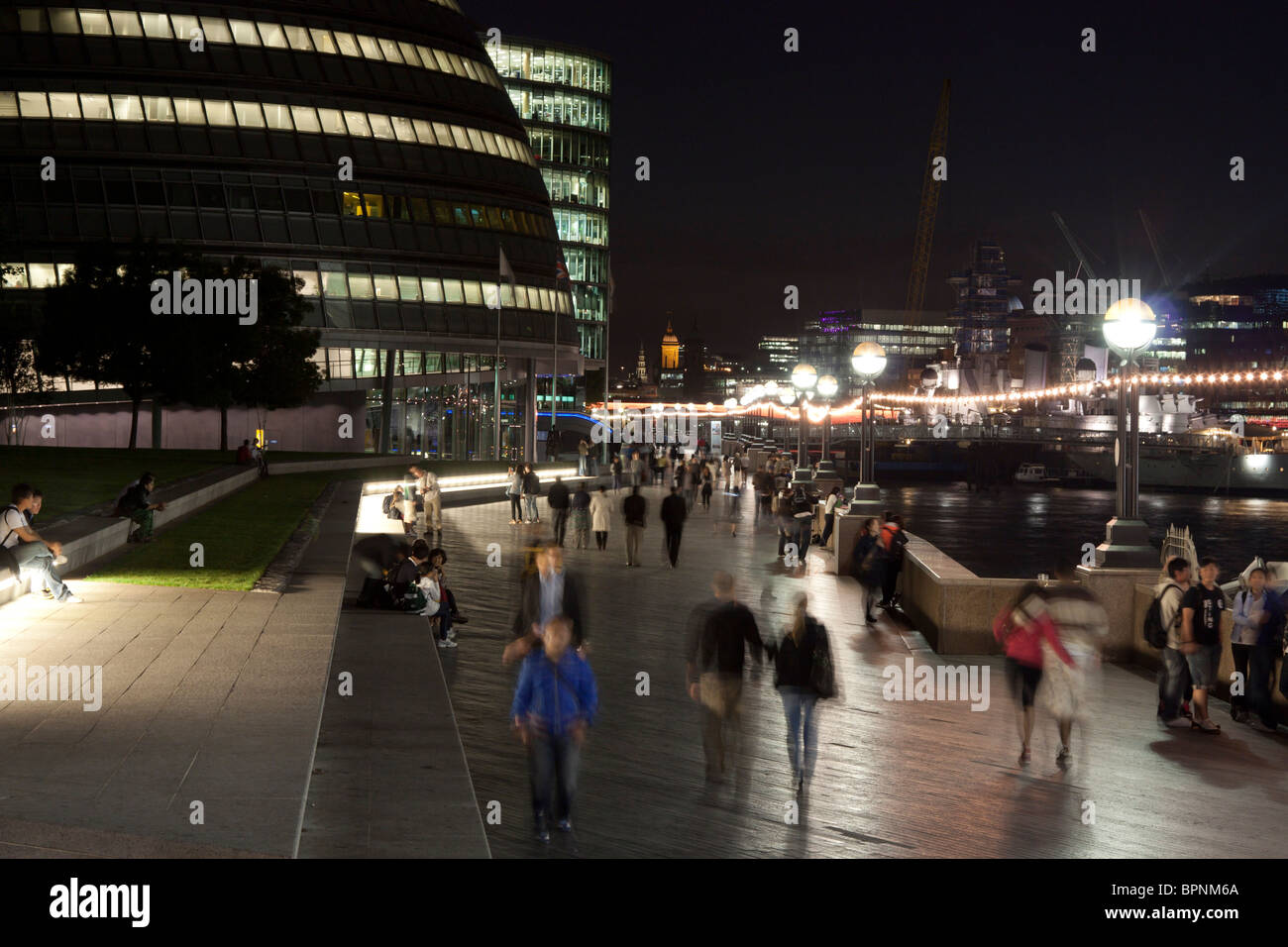 London City Hall - Südufer - London Stockbild