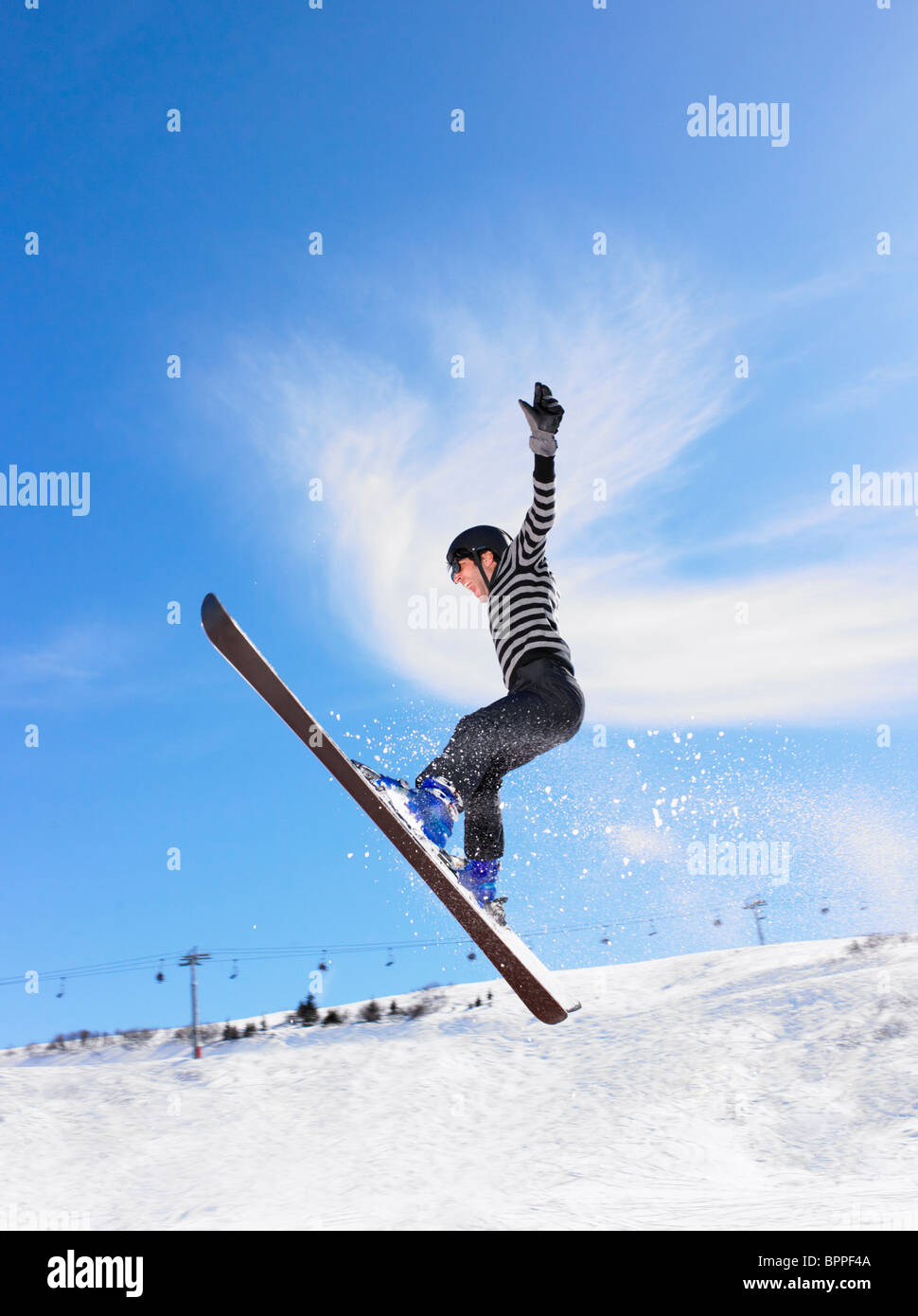 Wintersport-Urlaub Stockbild