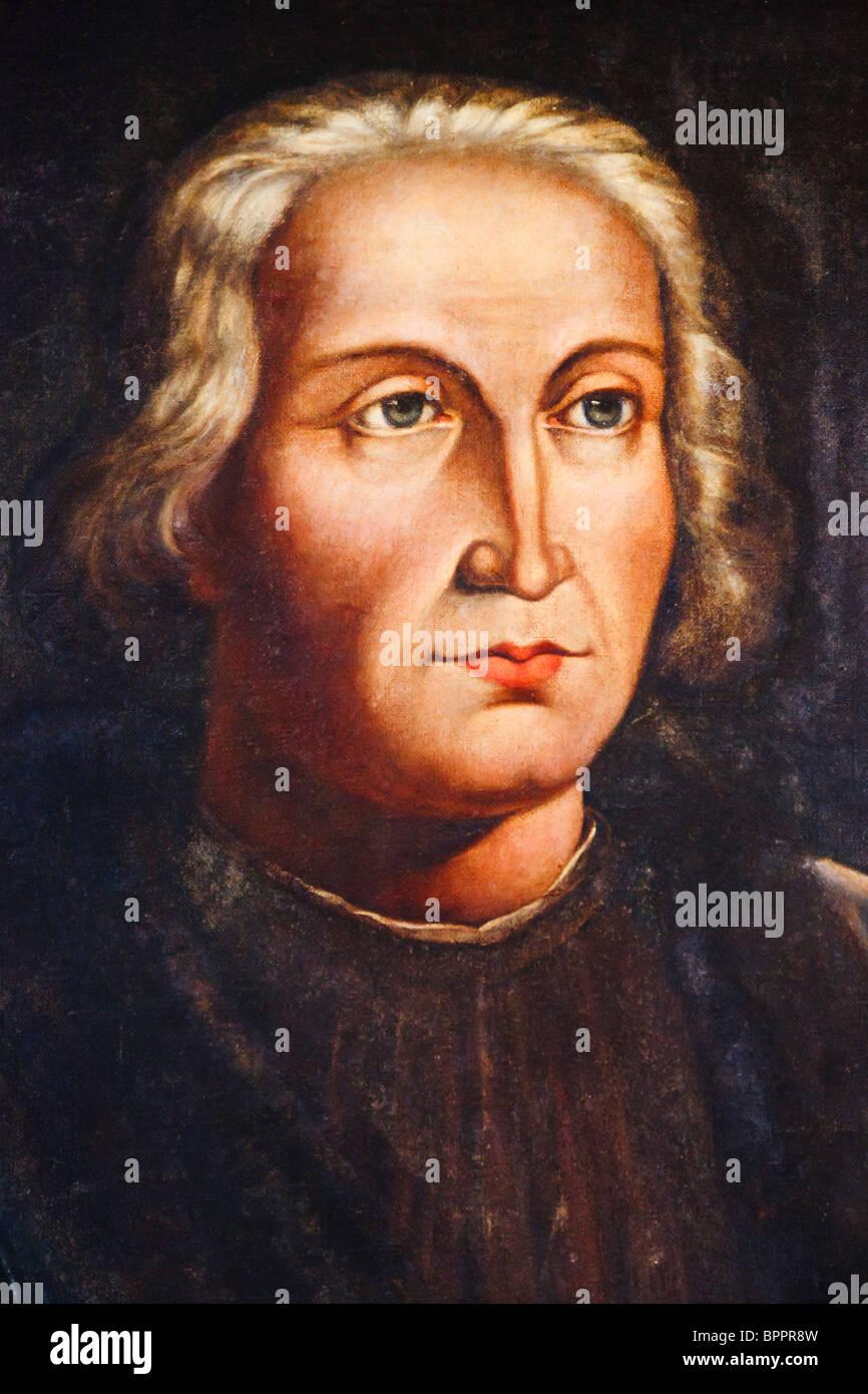 Christopher Columbus 1451-1506. Italienische geborene Entdecker. Stockbild