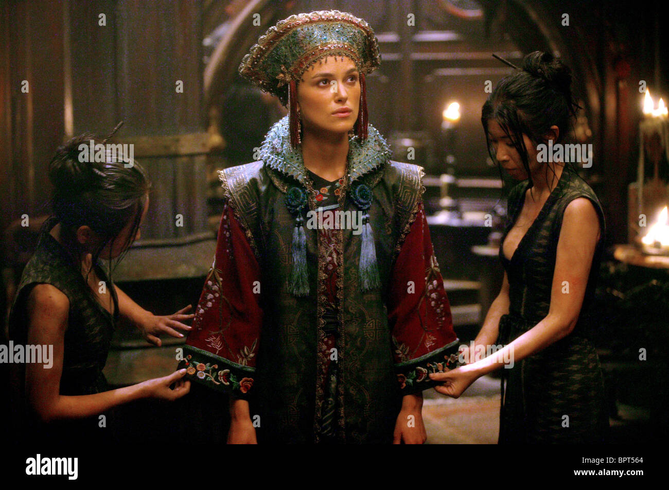 Keira Knightley Chow Yun Fat Pirates Of The Caribbean At Worlds