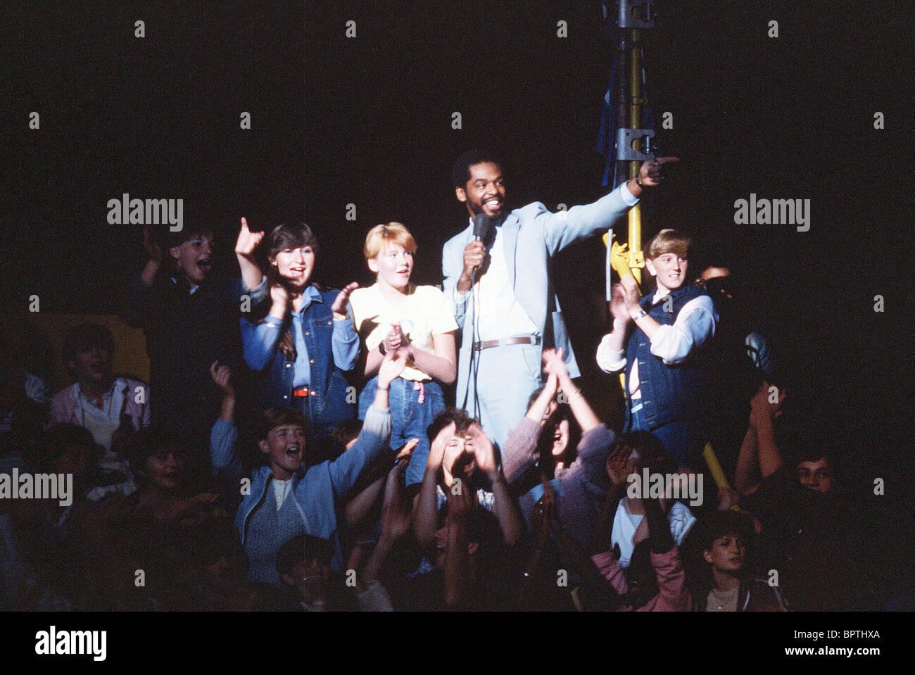 GARY BYRD SINGER (1984) Stockbild