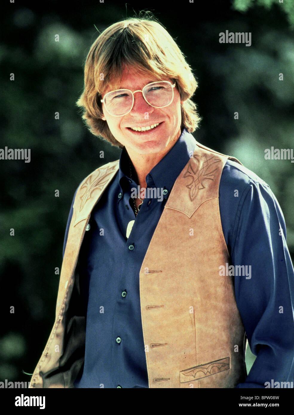 JOHN DENVER-COUNTRY-MUSIKER (1974) Stockbild