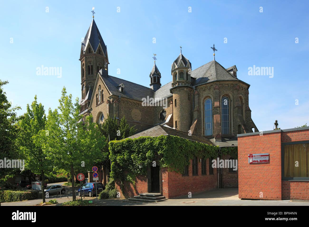 katholische kirche st nikolaus in bensberg bergisch. Black Bedroom Furniture Sets. Home Design Ideas