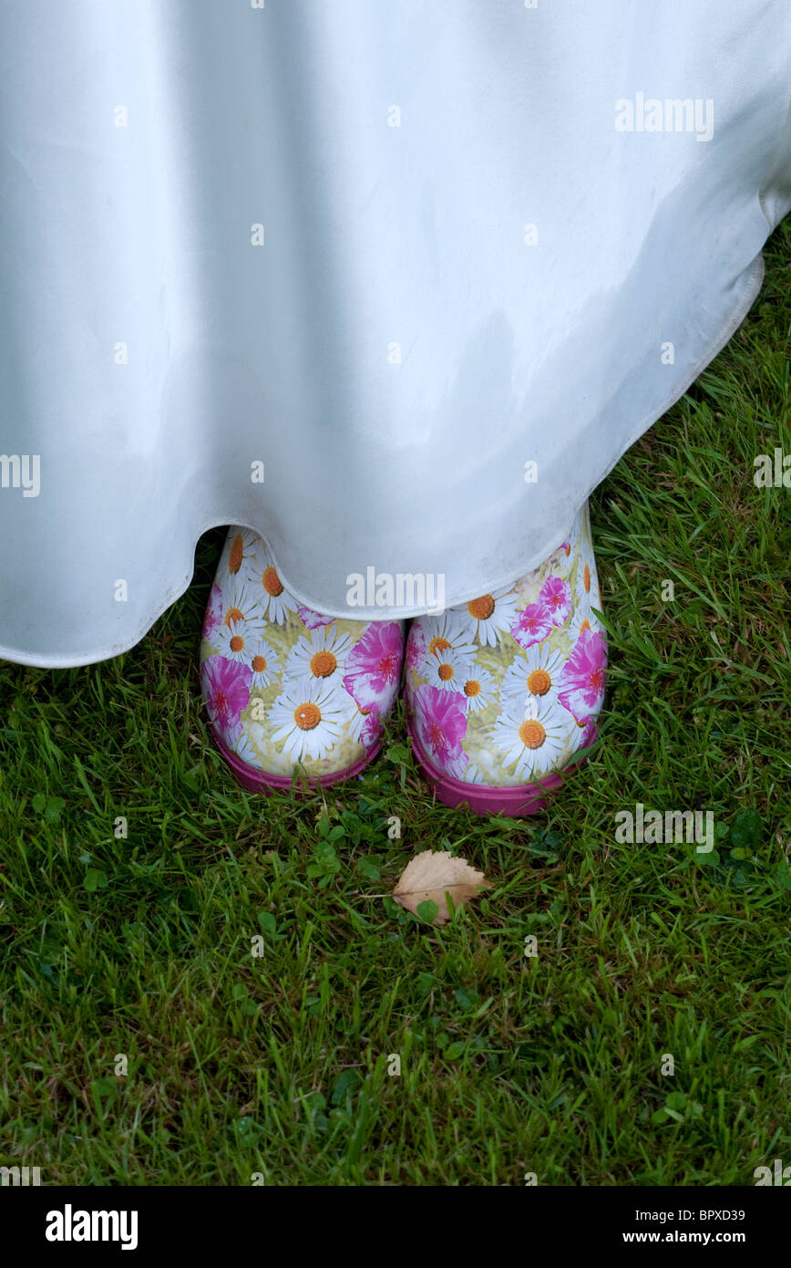 Wedding Wellington Boots Stockfotos & Wedding Wellington Boots ...