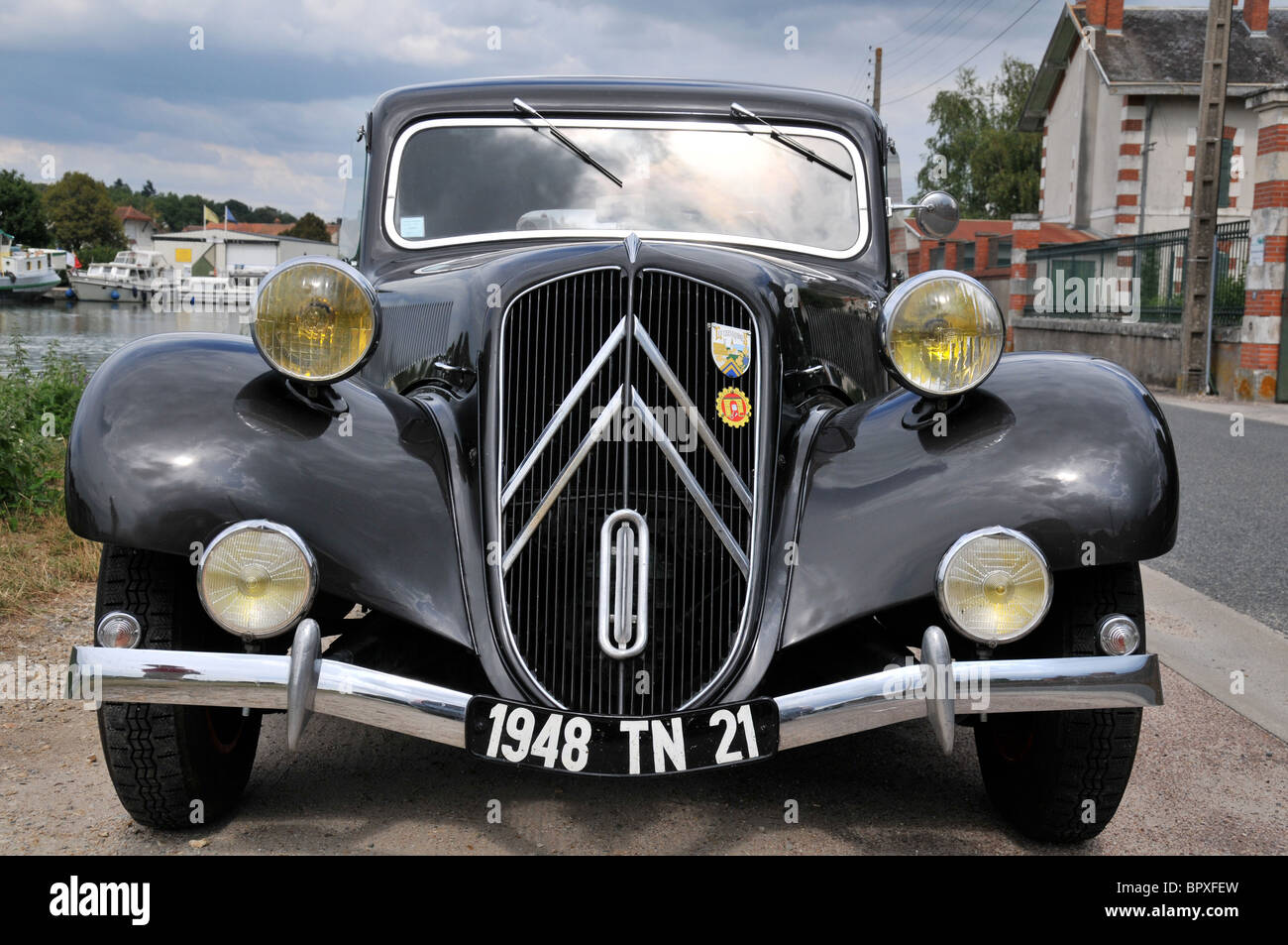 Citroen Traction avant Stockbild