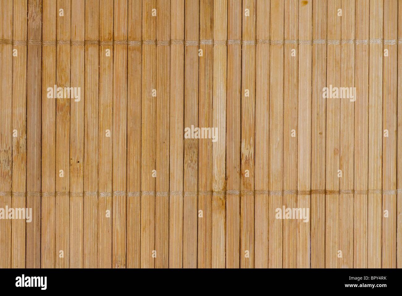 Bambus-Hintergrund-Board. horizontalen Muster. schöne Textur. Stockbild