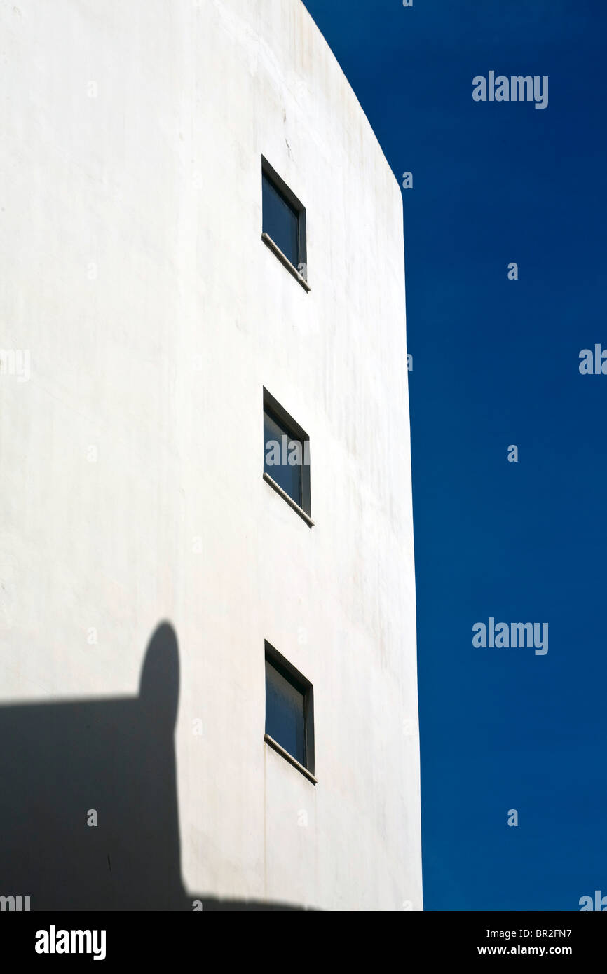 Detail einer Art-déco-Periode Gebäude in Tel Aviv, Israel Stockfoto ... eae106b9053d